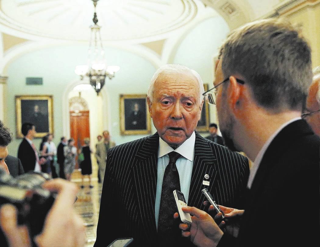 Senator Orrin Hatch. REUTERS/Gary Cameron