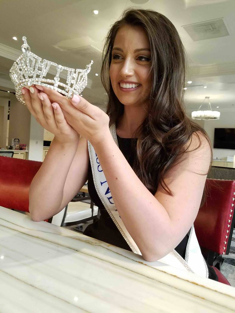 2016 Miss Nevada Bailey Gumm at Lucky Dragon in Las Vegas. (TVT)