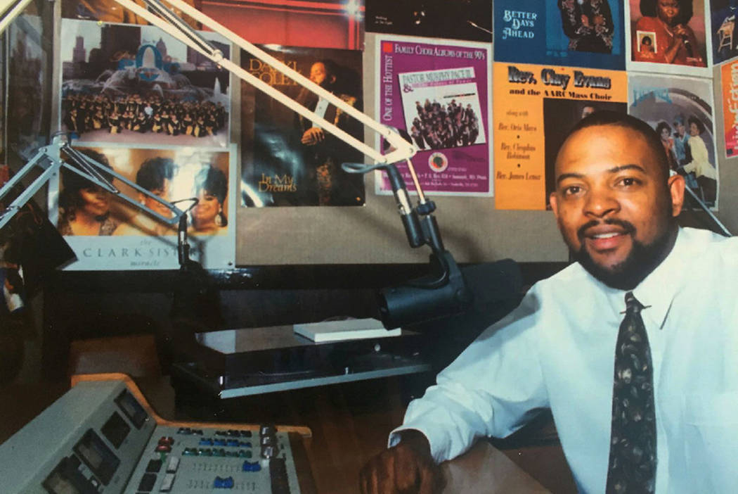 """Louis """"L.C"""" Conner Jr., former DJ at KCEP, """"The People's Station. The night of the Historic Westside riots, Conner's voice helped calm the community. KCEP"""