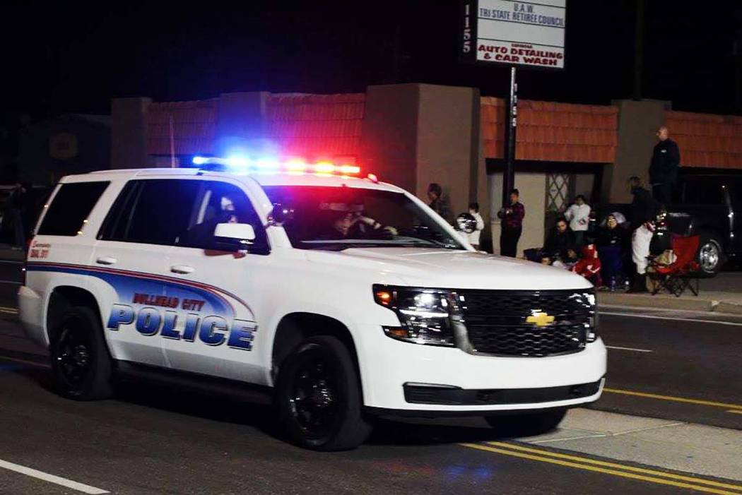 Bullhead City Police Department vehicle (Facebook)