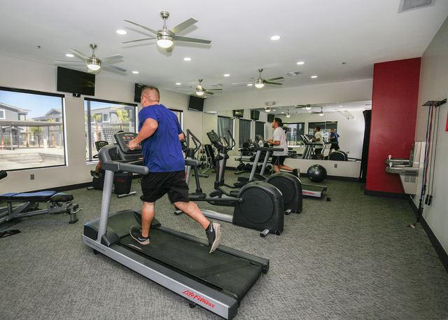 SW apartments also offers a gym. (ELKE COTE-RJREALESTATE.VEGAS)