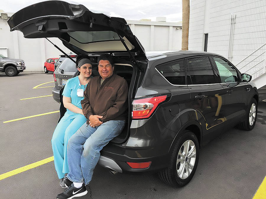 2017 Escape at Friendly Ford perfect for nursing assistant
