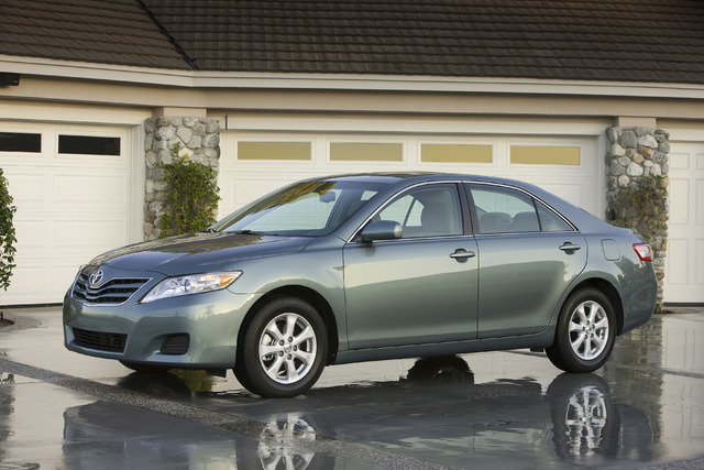 COURTESY Although you may pay more for this 2010 Toyota Camry than an older model, it may still be a better deal. Toyota will certify a model if it is 6 years old or newer and has less than 85,000 ...