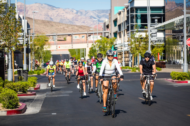 The master-planned community Summerlin hosts two major public events in April: the Summerlin Half Marathon and Tour de Summerlin. (PROMOTIONAL)