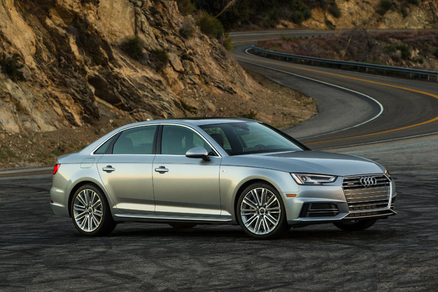 COURTESY AUDI The Audi A4 combines handsome and sporty into one tidy package.