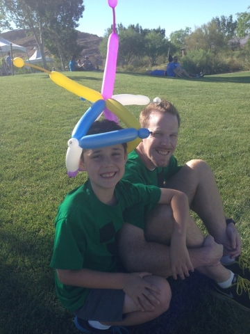 ADVERTISING FEATURE Come out and enjoy family-friendly festivities at the Take Steps for Crohn's & Colitis Community Walk at Mountain's Edge on May 14. Pictured is 10-year-old Ben Etter, t ...