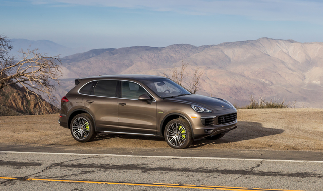 COURTESY PORSCHE Hotel guests at the Mandarin Oriental are invited to enjoy a two-hour drive around Las Vegas with their choice of two Porsche e-plug-in hybrid vehicles, the Panamera S E-Hybrid or ...