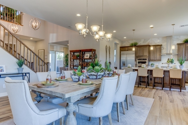 PROMOTIONAL  Century Community's Meadow Ridge showcases this 3,889-square-foot plan. This home includes as many as six bedrooms, as many as 4.5 baths and a three-car garage.