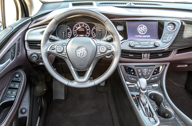 COURTESY GENERAL MOTORS The Envision could end up being Buick's volume model in North America, so the company can ill afford to mess up the interior design. As it turns out, it's both elegant  ...