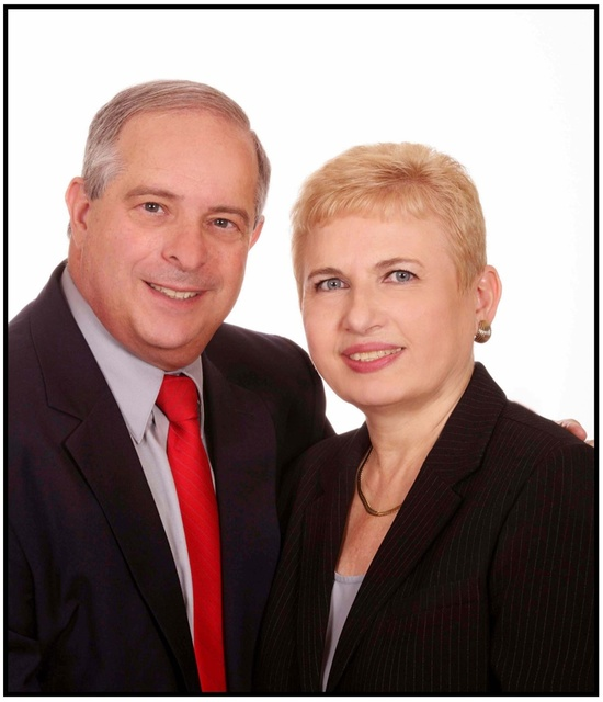 GLVAR Realtors of the Year award recipients Ronnie (2016) and Neil Schwartz (2009) are partners in marriage and business. (Courtesy)