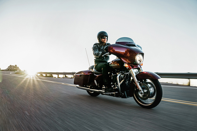 COURTESY Las Vegas Harley-Davidson, located on the Strip, celebrates the introduction of the 2017 Harley-Davidson models at a launch party this Saturday.