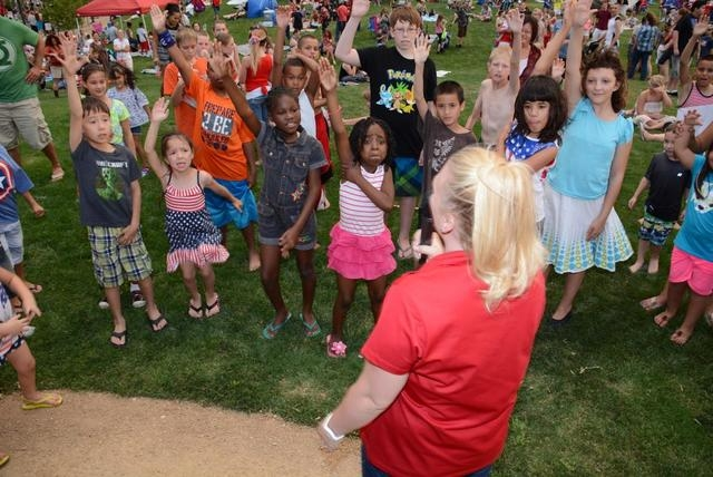 Kids will enjoy a variety of games at Friday's free Family Fun Festival at Providence's Knickerbocker Park. (PROMOTIONAL)