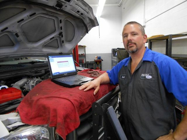 COURTESY Friendly Ford's Ford certified senior master tech David Kovarik says Ford's engines are unmatched in the automotive business.