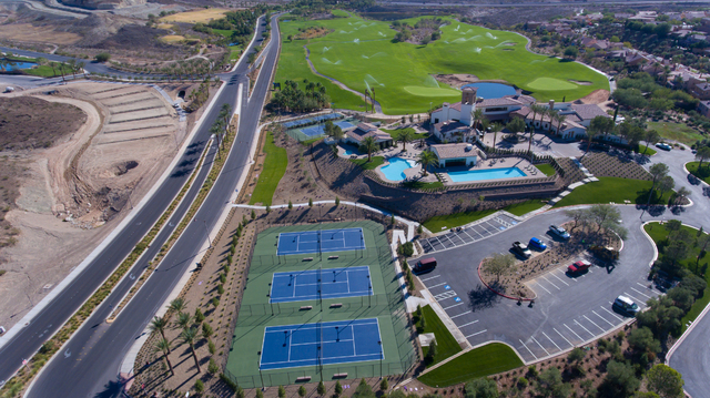 Lake Las Vegas will open its new Sports Club Jan. 1. It has tennis courts, pool and a high-tech workout facility. (Courtesy)