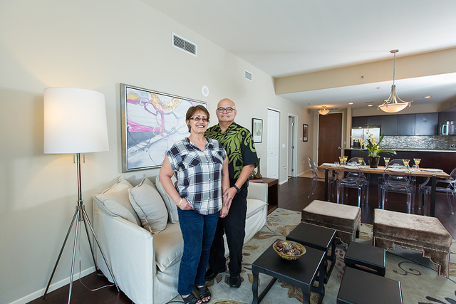 Native Hawaiians Lamont and Yolanda Lindsey discovered their own version of paradise at One Las Vegas, where they recently purchased a one-bedroom residence overlooking the valley. The couple enjo ...
