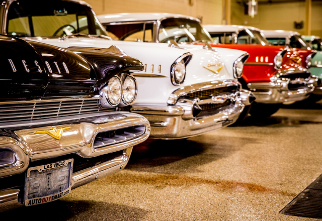 Hidden Gem Dealership Has Large Collection Of Classic Cars Las
