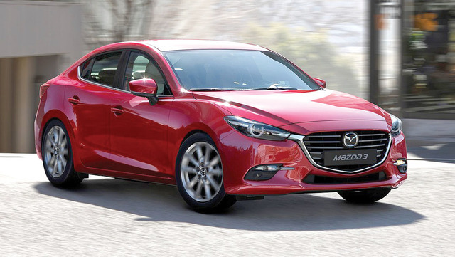 COURTESY MAZDA The revised Mazda3 will get some trick features designed to improve its steering accuracy. It's not just about fuel economy in small cars.