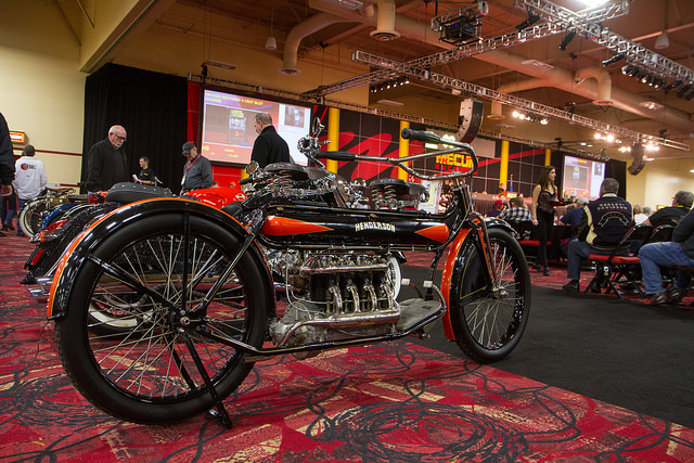 COURTESY The 26th Mecum Las Vegas Motorcycle Auction is at the South Point today and Saturday.