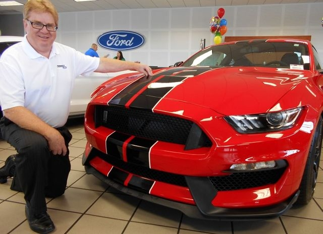COURTESY Friendly Ford Controller Keith Morgan has worked with Ford dealerships for 24 years.