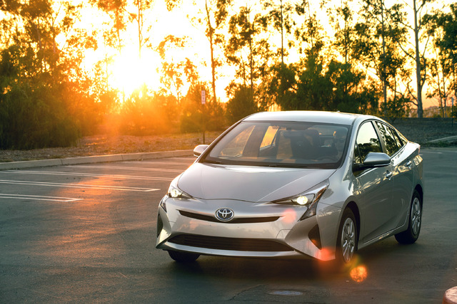 COURTESY TOYOTA Below the new bodywork is an equally new lithium-ion battery pack, unless you buy the base car. That model continues with the old-school nickel-metal-hydride battery.