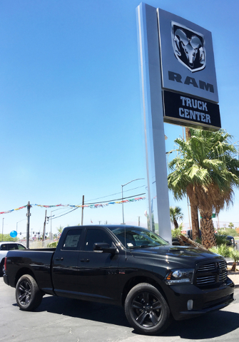 COURTESY Chapman Automotive recently unveiled the Ram Truck Center on 3470 Boulder Highway.