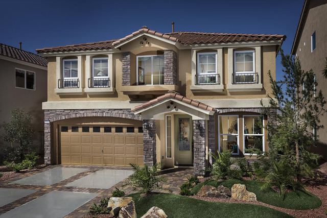 Silverado Summit's new home designs range from 1,552 to 3,990 square feet. (Courtesy)