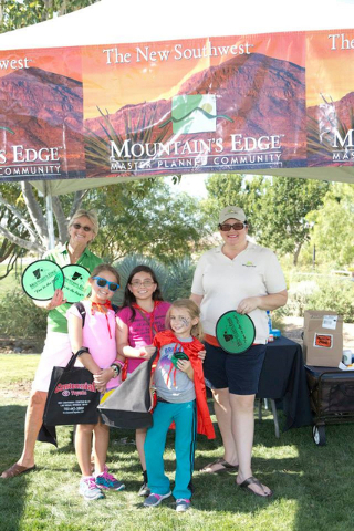 The Candlelighters Superhero 5K at Exploration Park in Mountain's Edge.(Courtesy)     Mountain's Edge Table – Have fun and pick up goodies during today's Candlelighters Superhero 5K at Exp ...