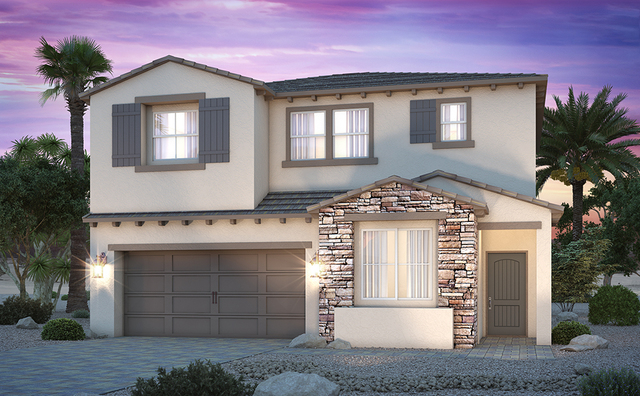 The Zion 1917 home at Century Communities' is offered in the new Parkview neighborhood in southwest Las Vegas. (COURTESY OF CENTURY COMMUNITIES)