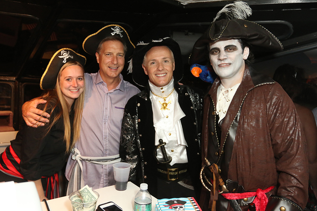 A special Halloween night adult cruise features spooky surprises, free appetizers and Captain Morgan Rum drinks, and more, only at the Lake Las Vegas master planned community. (Courtesy)