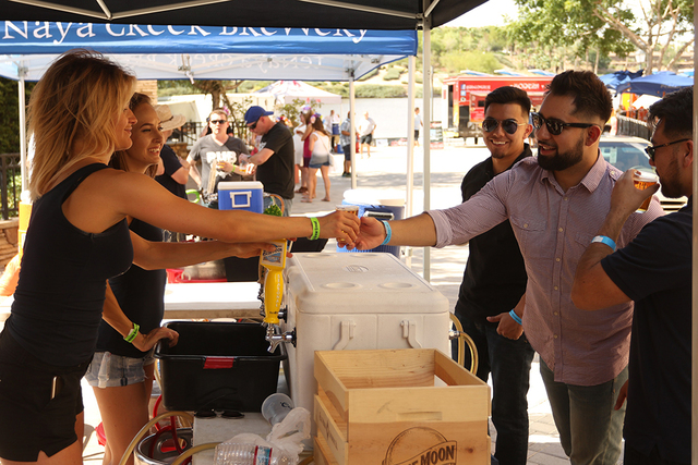 More than 100 craft beers, including seasonal selections, from 30 local, regional and national breweries are featured at the MonteLago Beerfest at Lake Las Vegas on Oct. 15. (Courtesy)