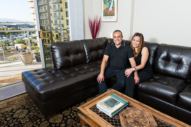 Yossi Lev and Jevy Welch continue their fairy tale romance by purchasing their first home together at One Las Vegas. The couple enjoys their spacious floor plan, balcony with sweeping views, uniqu ...