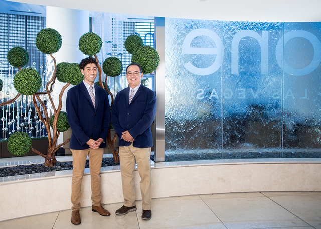 Chris Sailor and Venchie Diel are concierge specialists at One Las Vegas, the luxury condominium community at the south end of Las Vegas Blvd. Residents benefit from various concierge services inc ...
