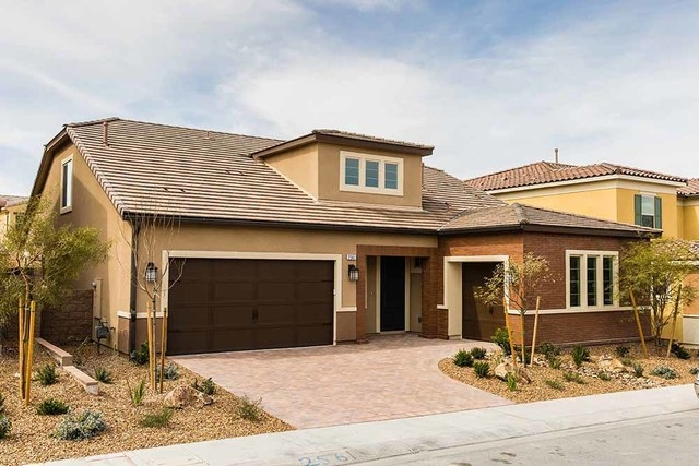 With a unique second-floor loft, covered patio and countless upgrades, Pardee's Alterra Plan Four is move-in-ready in Inspirada, a Henderson master-planned community. (COURTESY OF PARDEE HOMES)