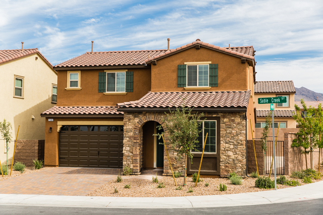 Pardee Homes has a limited number of move-in ready homes at its five neighborhoods in Henderson's Inspirada master-planned community. Pictured is a move-in ready Plan Two D at Solano. (Courtesy)