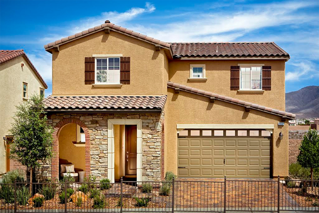 Pardee Homes has a limited number of move-in-ready homes at its Solano neighborhood in Henderson's Inspirada master-planned community. Pictured is the Plan Three model home. (Courtesy)