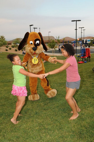 Meet P.D., Providence's mascot, at the Family Fun Festival. (PROMOTIONAL)
