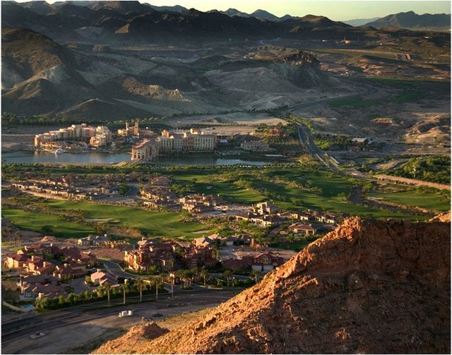 Models at several new single-family home communities are now open at Lake Las Vegas, the master planned residential, golf and resort community surrounding a 320-acre private lake. (Courtesy)