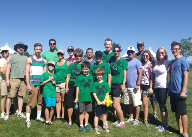 ADVERTISING FEATURE Create a team to participate in this year's Take Steps Community Walk for Crohn's & Colitis at Exploration Park in Mountain's Edge on May 14. Pictured is the event' ...