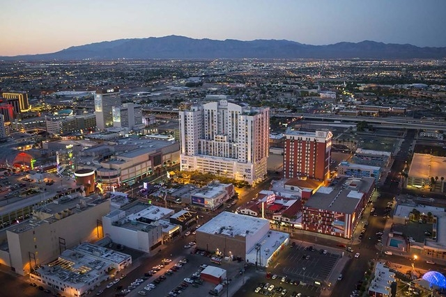 The Ogden, a 21-story high-rise in the heart of downtown Las Vegas, now offers expanded mortgage financing options, including Veterans Affairs financing. (COURTESY OF THE OGDEN)