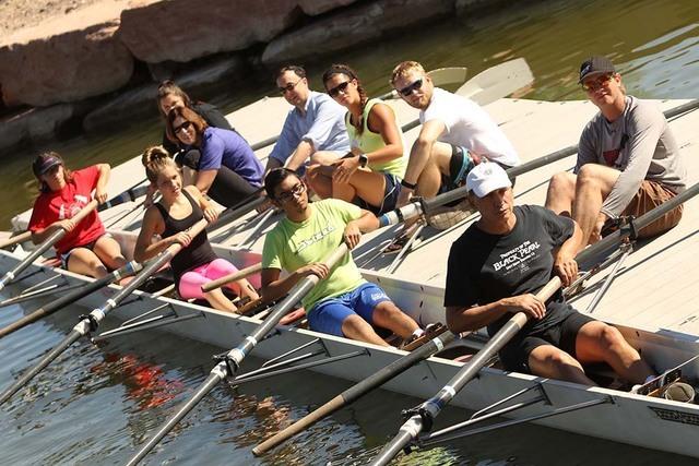Lake Las Vegas Rowing Club offers free classes