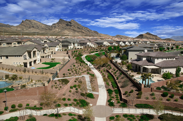 COURTESY OF SUMMERLIN  Summerlin trails are ranked by residents as the most important and popular amenity in the master-planned community. More than 150 miles link neighborhoods to parks, schools  ...