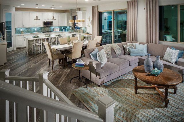 Summerlin offers variety of floor plans in the paseos for Reverse living homes
