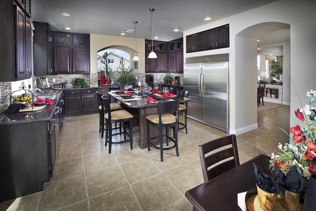 American West Homes Won The Silver Nugget Award For Its Heather Kitchen At  Woodbridge At Coronado