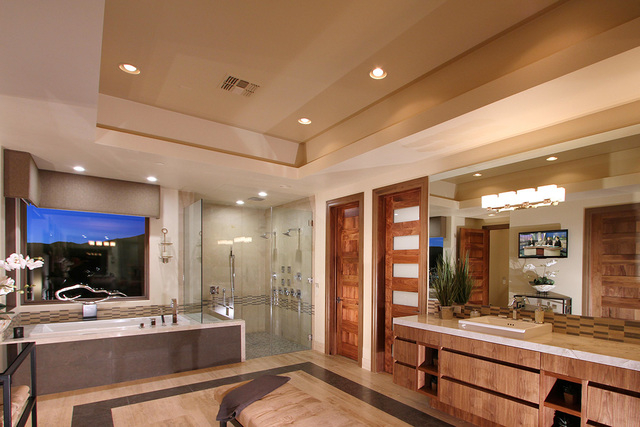 This Sun West Custom Homes Master Bath Won Best In The Over $500,000  Division. COURTESY