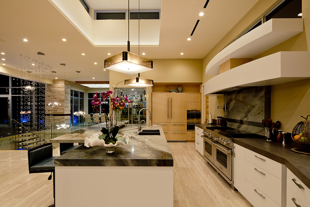 Sun West Custom Homes builds elaborate indoor-outdoor kitchens that ...