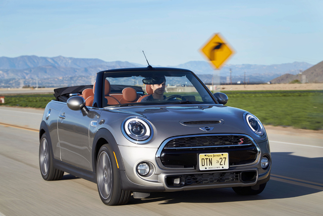 COURTESY The perfect catalyst for opening yourself up to all life has to offer, the Mini Cooper Convertible improves on its predecessor with BMW-engineered performance, a more spacious, high-end i ...