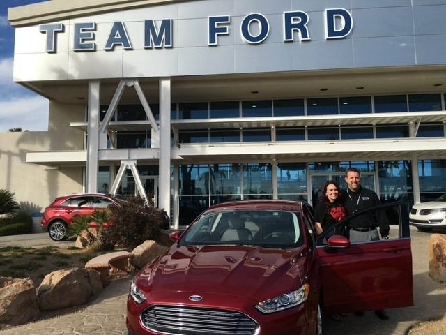 Team Ford Lincoln >> Team Ford Lincoln Makes Dream Come True For Local Hero Las