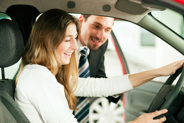 THINKSTOCK When test driving a new car, get the salesperson to explain the infotainment system to you.