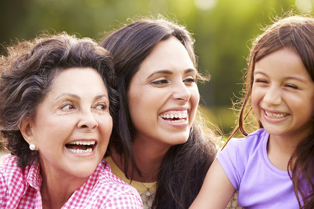 According to the Pew Research Center, 20 percent of Americans 65 or older are living in multigenerational households, compared to 16 percent in 1990. (THINKSTOCK)