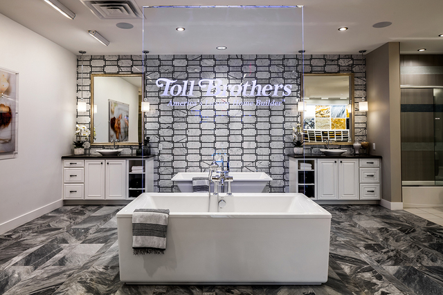 PROMOTIONAL  Toll Brothers' opened its Las Vegas Design Studio at 6140 Brent Thurman Way, Suite No. 160 in December.